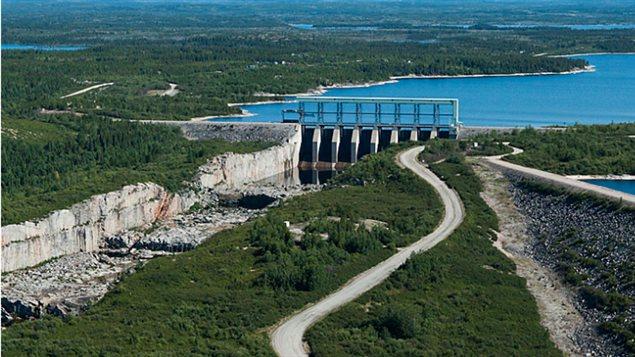 Centrale hydro-éléctrique de la Baie James - secteur Robert-Bourassa