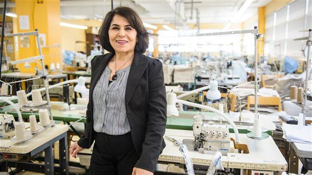 Nahid Aboumansour, directrice générale et co-fondatrice de l'organisme Petites-Mains