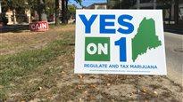 La marijuana à des fins récréatives pourrait bientôt être légale au Maine