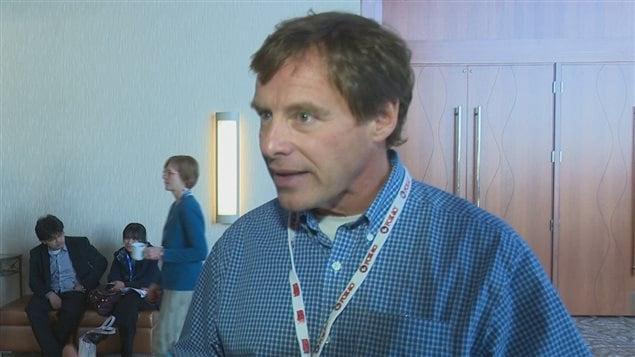 Jean-Pierre Girard, membre du comité organisateur du Forum mondial sur la promotion de la santé