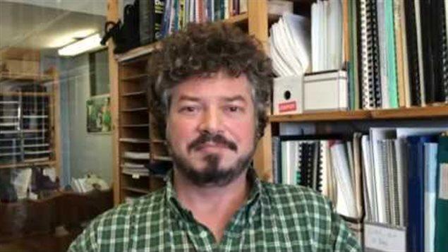 Jamie Kneen, miembro del organismo no gubernamental Alerta Minera Canadá, con sede en Ottawa.