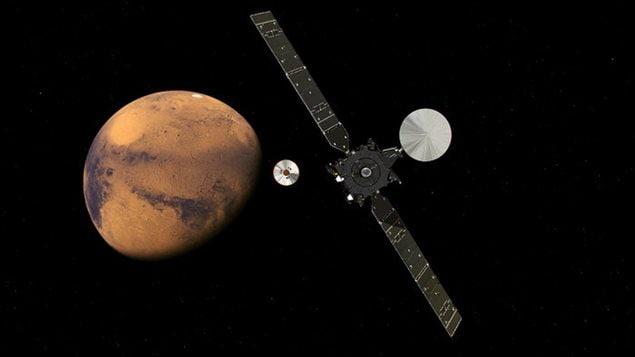 Illustration de la mission ExoMars