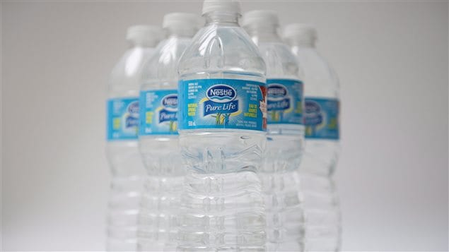Nestle Waters Canada would not be allowed to apply for a permit to set up or expand water bottling operations for two years, according to a proposed regulation.