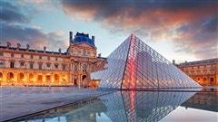 La cour intérieure du Louvre