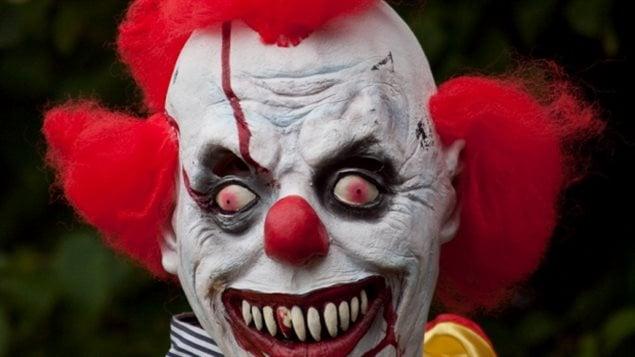 L'apparition de clowns effrayants est un phénomène maintenant nord-américain.(David Kittos/Flickr)