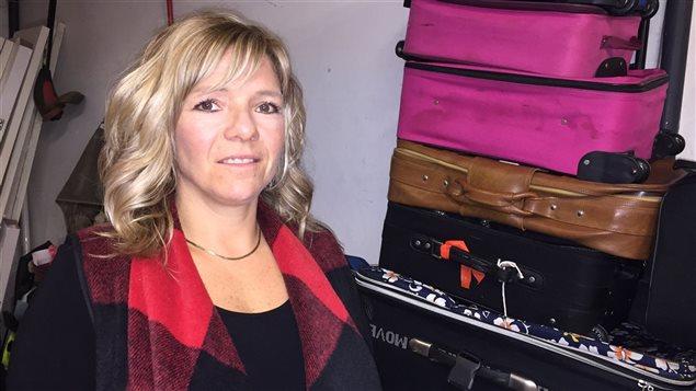 Lee-Ann Wotton est touchée par la cause des enfants de l'Aide à l'enfance.