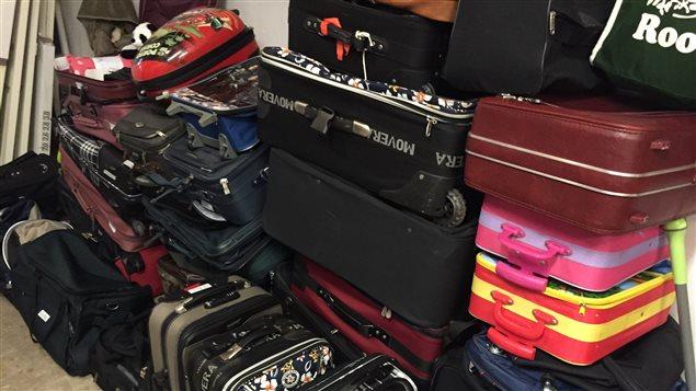 Une quarantaine de valises ont été amassées jusqu'à présent pour les enfants de la Société d'aide à l'enfance de Sudbury-Manitoulin.