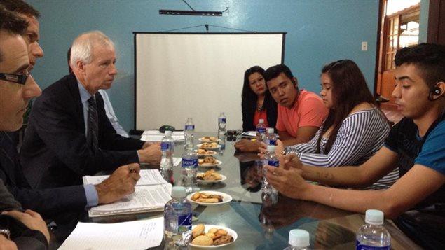 Abogados sin fronteras canad participa en visita a guatemala y honduras for Relaciones exteriores honduras