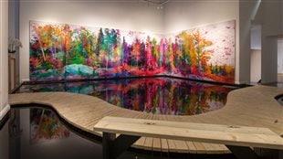 L'exposition Just a Sliver of the Room présentée en avril à la galerie Angell de Toronto