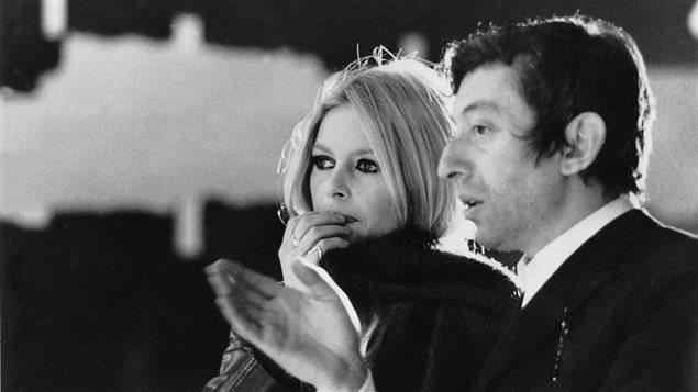 Brigitte Bardot et Serge Gainsbourg en décembre 1967