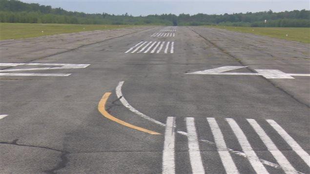 Une piste d'atterrissage