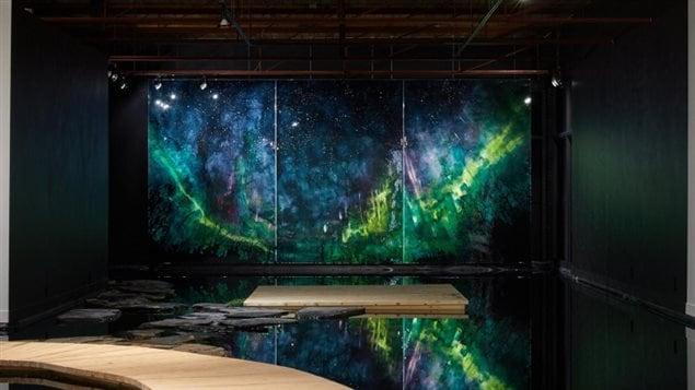 L'exposition And a Dark Wind Blows de Steve Driscoll