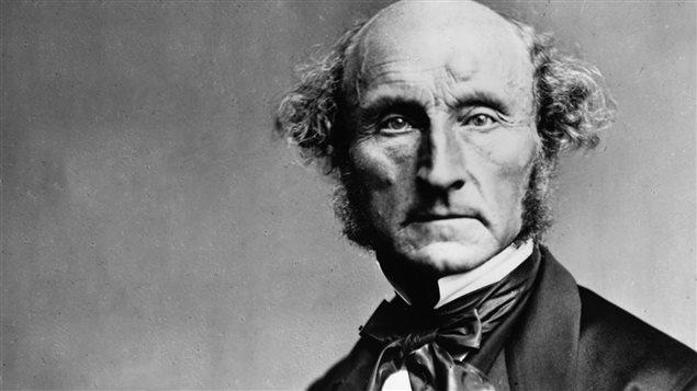 John Stuart Mill, philosophe, logicien et �conomiste britannique (1806-1873)