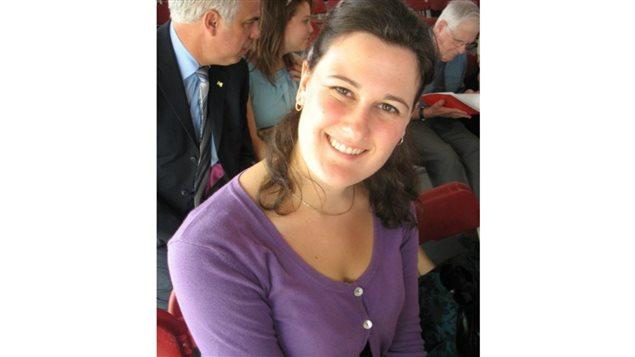 Catherine Rioux, Agente d'établissement bilingue