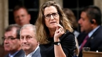 Accord de libre-échange : à l'Europe de faire son travail, dit la ministre Freeland