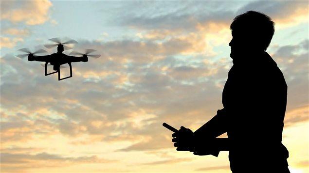 Les drones peuvent �tre la cible des pirates informatiques.