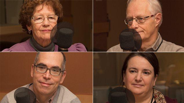 Andrea Richard, Daniel Baril, Jocelyn Maclure et Mireille Estivalèzes