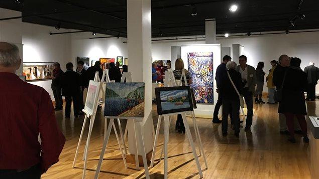 Exposition 12 regards des artistes de la Manicouagan membres de Group'Art
