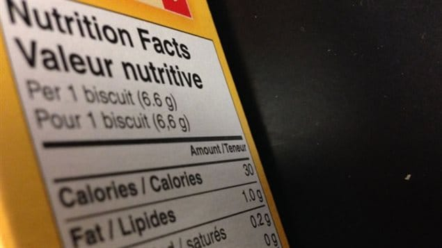 The government intends to require clearer food labeling.