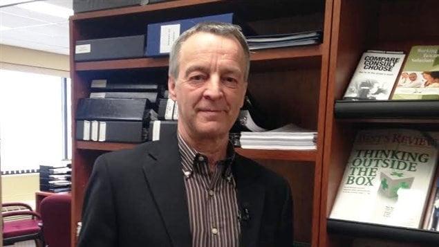 Ronald Godin, défenseur des consommateurs en matière d'assurances au Nouveau-Brunswick