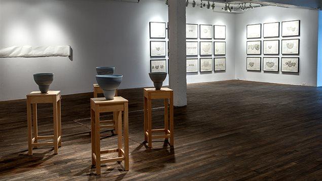 L'artiste montréalaise Marie Côté s'installe à Dawson pour une résidence de travail.