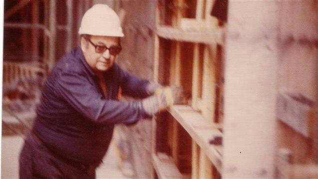 �mile Soucy, un travailleur de la construction