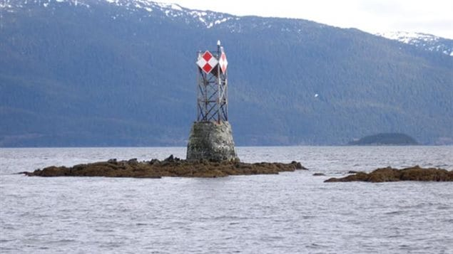 Alhtough Canada had often requested a beacon be placed on Vanderbilt Reef, the US only did so after the Princess Sophia disaster.