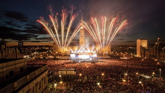 The Canada Day celebrations on Parliament Hill in Ottawa on July 1, are always spectacular, but in 2017, the country's 150th birthday, will be even bigger.