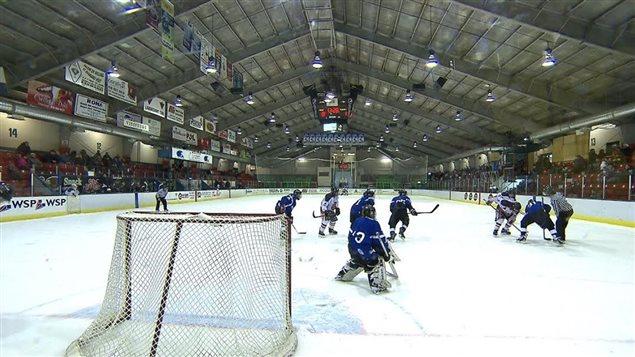 équipe de hockey mineur