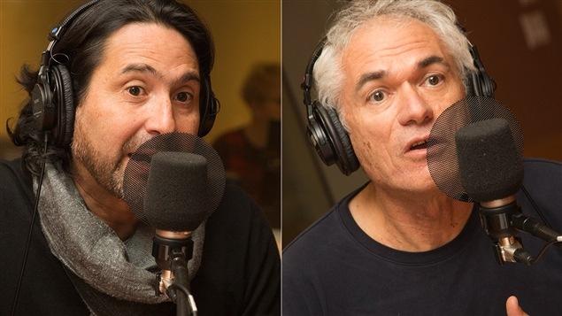 Orlando Arriagada et Michel Labrecque