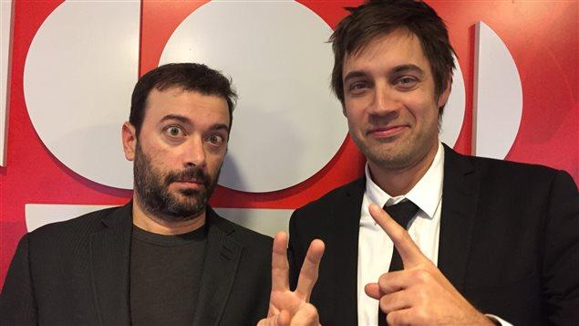 Christian Vanasse et Jean-François Nadeau de Les Zapartistes.