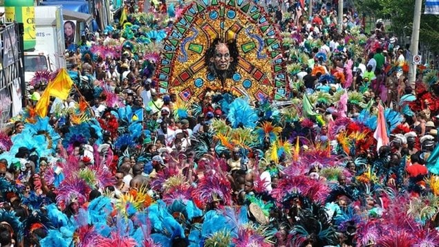 For colour, imagery, music, you can't beat Caribana Festival in Toronto in July.. It's hot in so many ways