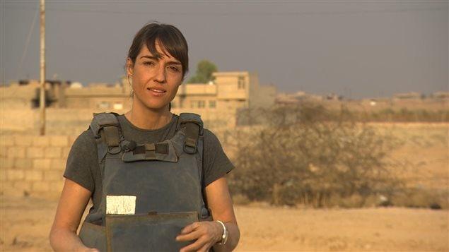 ماري إيف بيدار في العراق