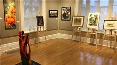 Ench�res � la Galerie Louise-Carrier � L�vis