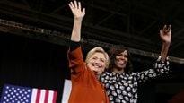 Allez voter, clament Michelle Obama et Hillary Clinton