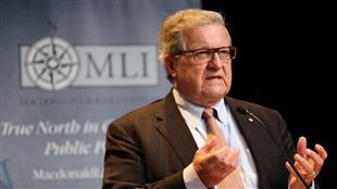 Lloyd Axworthy this spring: his drive for social justice remains undiminished.