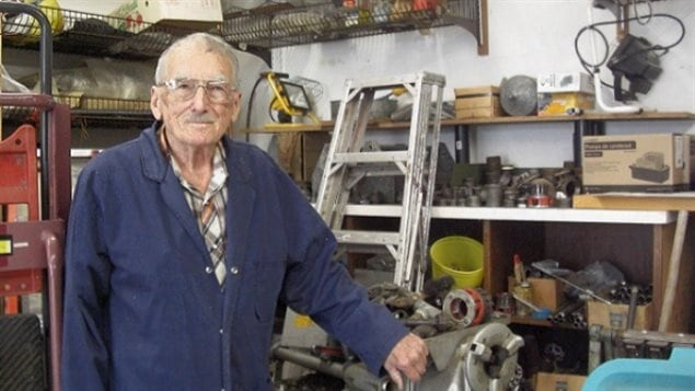 Lorne Figley of Saskatchewan has been officially recognized as the world's oldest plumber, and he's still going strong at age 92