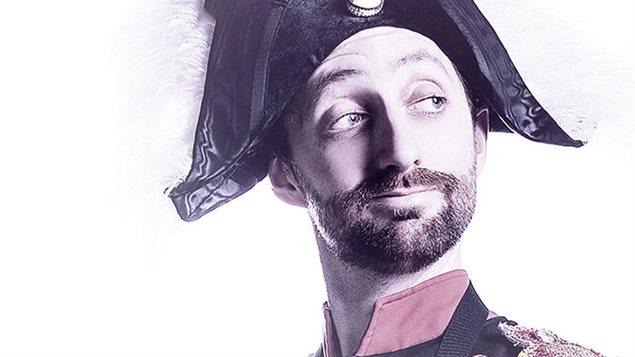 Affiche du spectacle Napol�on voyage avec le com�dien Jean-Philippe Lehoux