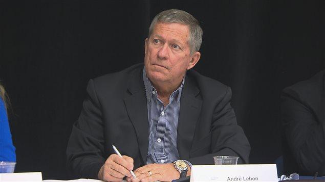 André Lebon, président de la commission sur l'éducation à la petite enfance
