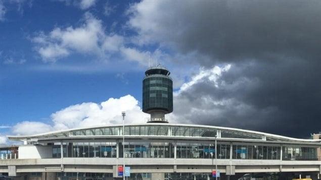 L'aéroport international de Vancouver (YVR).