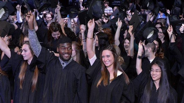 Remise de diplômes au Cégep de Sherbrooke