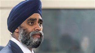 Le ministre canadien de la Défense, Harjit Sajjan.