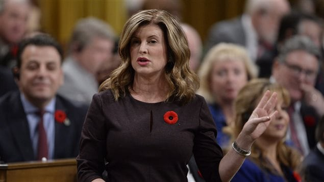 La chef intérimaire du Parti conservateur du Canada, Rona Ambrose