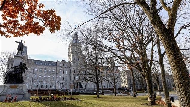 Le parlement à Québec, où se trouve l'Assemblée nationale