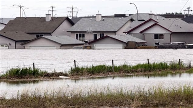 Insurance companies had to pay claims worth $1.7 billion after catastrophic floods devastated the province of Alberta in 2013.