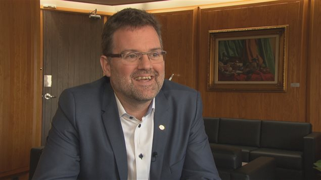 Le maire de Gatineau Maxime Pedneaud-Jobin