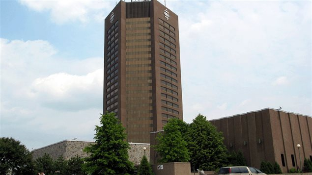 The French-language broadcast centre, *Maison Radio-Canada * and property in central Montreal is now for sale as a cost-cutting measure due to a series of massive budget cuts from successive governments. Several other CBC buildings across the country have also been listed for sale