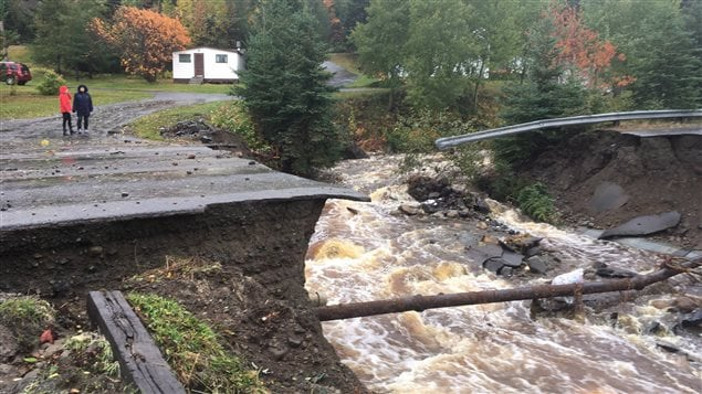 Torrential rain brought floods to Canada's eastern provinces of Nova Scotia and Newfoundland and Labrador on October 11, 2016. Floods have become more frequent in Canada.