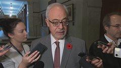 Le ministre des Finances et président du Conseil du Trésor du Québec, Carlos Leitao