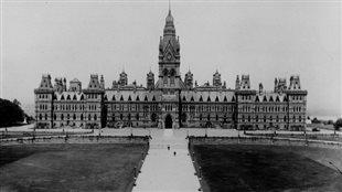 Parlement du Canada en 1916